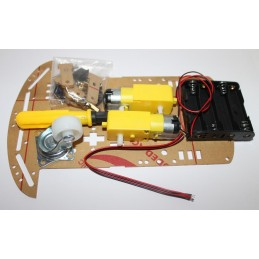 Robot car chassis auto 2...